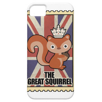 Wellcoda Animal Squirrel GB Great Britain iPhone 5 Covers