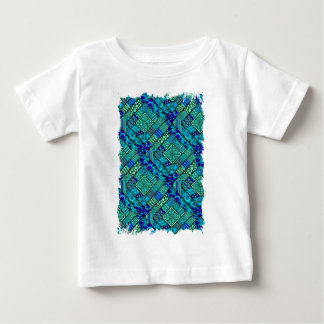 Wellcoda Apparel Asia Pattern Diamond Fun Baby T-Shirt