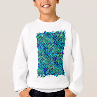 Wellcoda Apparel Asia Pattern Diamond Fun Sweatshirt