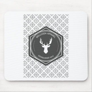 Wellcoda Apparel Big Game Hunt Stag Deer Mouse Pad