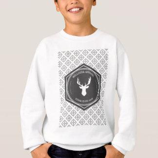 Wellcoda Apparel Big Game Hunt Stag Deer Sweatshirt