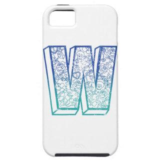 Wellcoda Apparel Big Letter W Lock Key Tough iPhone 5 Case