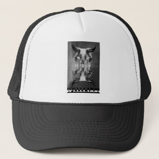 Wellcoda Apparel Cult Mask Crazy Animal Trucker Hat