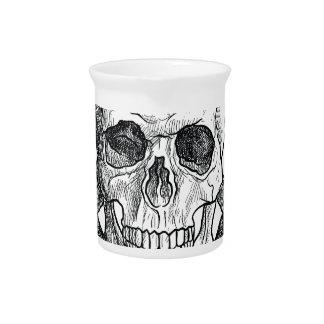 Wellcoda Apparel Dead Skeleton Pirate Sea Beverage Pitchers