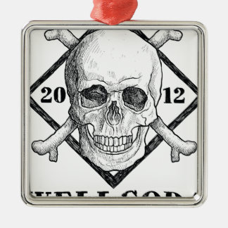 Wellcoda Apparel Dead Skeleton Pirate Sea Christmas Ornament