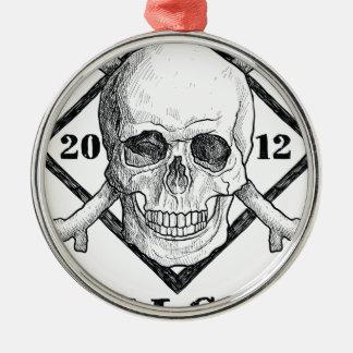 Wellcoda Apparel Dead Skeleton Pirate Sea Christmas Ornament