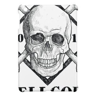 Wellcoda Apparel Dead Skeleton Pirate Sea iPad Mini Cover