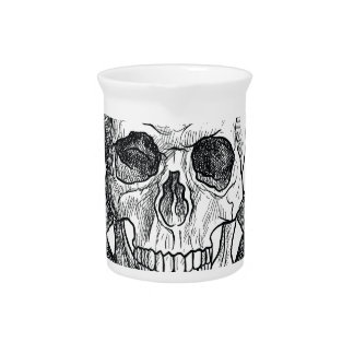 Wellcoda Apparel Dead Skeleton Pirate Sea Pitcher