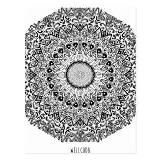 Wellcoda Apparel Epic Pattern Tribal Life Postcard