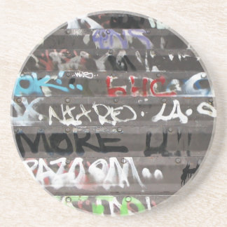 Wellcoda Apparel Graffiti Life Youth Fun Coaster