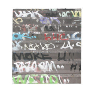 Wellcoda Apparel Graffiti Life Youth Fun Notepad
