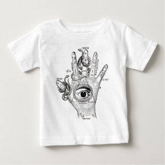 Wellcoda Apparel Hand Compass Judgement Baby T-Shirt