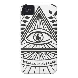 Wellcoda Apparel Illuminati Conspiracy iPhone 4 Cases