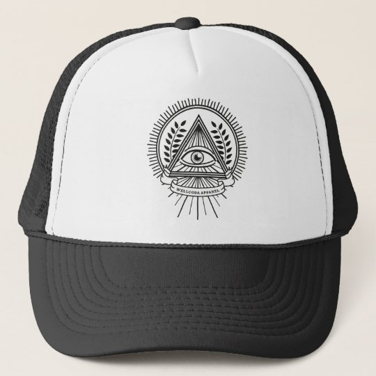 Wellcoda Apparel Illuminati Secret Life Trucker Hat