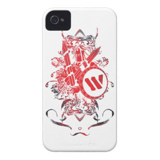 Wellcoda Apparel Mega Battle Evil Fantasy iPhone 4 Cover