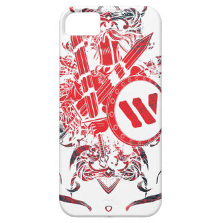 Wellcoda Apparel Mega Battle Evil Fantasy iPhone 5 Case