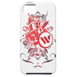 Wellcoda Apparel Mega Battle Evil Fantasy Tough iPhone 5 Case