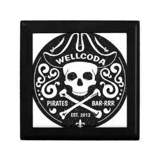 Wellcoda Apparel Pirate Bar Costume Hat Gift Box