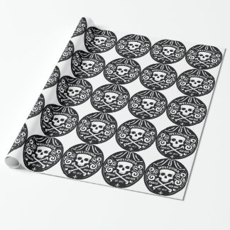 Wellcoda Apparel Pirate Bar Costume Hat Wrapping Paper