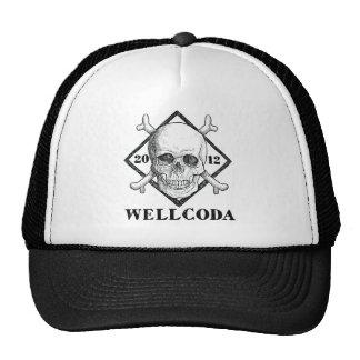 Wellcoda Apparel Pirate Skull Costume Hat