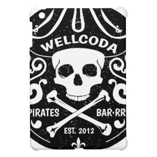 Wellcoda Apparel Pirates Bar Skull Bones Cover For The iPad Mini