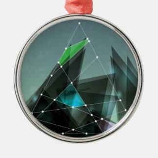 Wellcoda Apparel Shape Future Colour Wars Christmas Ornament
