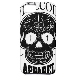Wellcoda Apparel Skull Face Epic Death iPhone 5 Cover