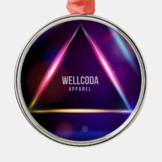 Wellcoda Apparel Solar System Crazy World Christmas Ornament