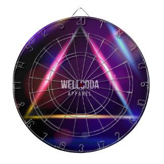 Wellcoda Apparel Solar System Star Colour Dartboards