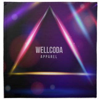 Wellcoda Apparel Solar System Star Colour Napkin