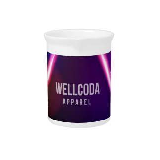Wellcoda Apparel Solar System Star Colour Pitcher