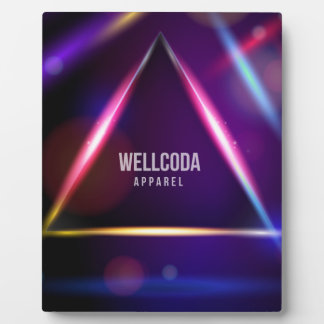 Wellcoda Apparel Solar System Star Colour Plaque