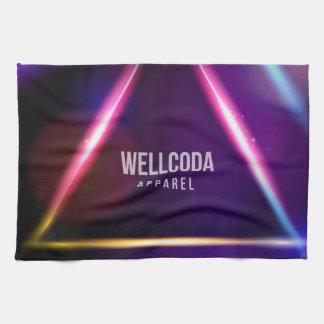Wellcoda Apparel Solar System Star Colour Tea Towel