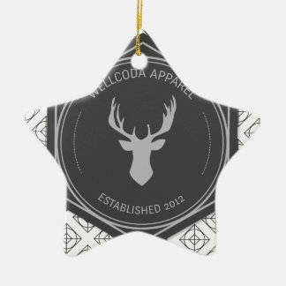 Wellcoda Apparel Stag Party Deer Season Christmas Ornament