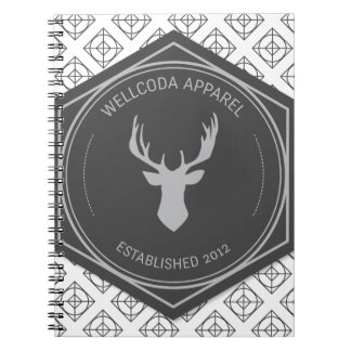 Wellcoda Apparel Stag Party Deer Season Notebook