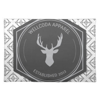 Wellcoda Apparel Stag Party Deer Season Placemat