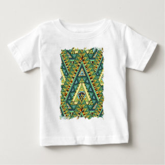 Wellcoda Apparel Tribal Life Pattern Fun Baby T-Shirt