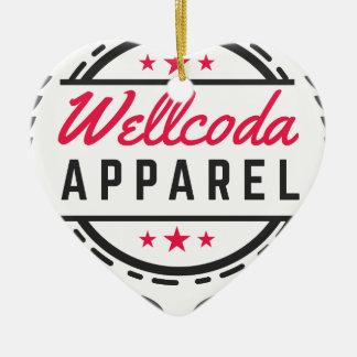 Wellcoda Apparel Vintage Style Edinburgh Christmas Ornament