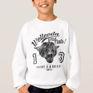 Wellcoda Apparel Wild Cats USA Sport Team Sweatshirt