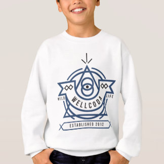 Wellcoda Apparel Wild Life Edinburgh UK Sweatshirt