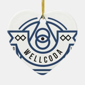 Wellcoda Apparel Wild Life Eye Illuminati Christmas Ornament