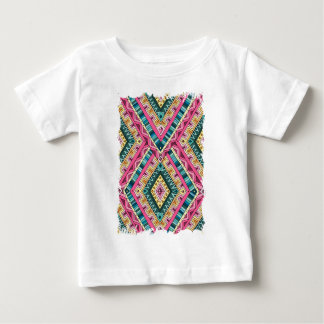 Wellcoda Apparel Wise Pattern Diamond Fun Baby T-Shirt