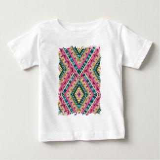 Wellcoda Apparel Wise Pattern Diamond Fun Baby T-Shirt