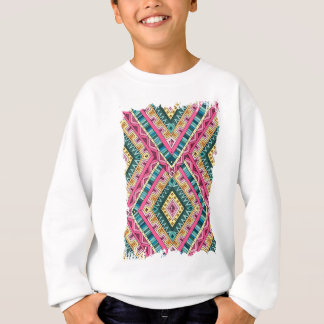 Wellcoda Apparel Wise Pattern Diamond Fun Sweatshirt