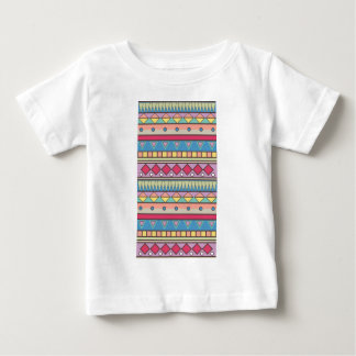 Wellcoda Asian Style Pattern Indian Look Baby T-Shirt