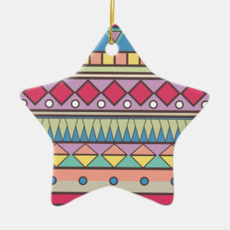 Wellcoda Asian Style Pattern Indian Look Christmas Ornament