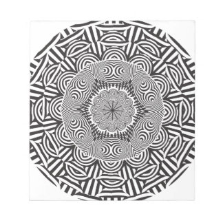 Wellcoda Aztec Life Style Test Decoration Notepad