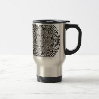Wellcoda Aztec Life Style Test Decoration Travel Mug