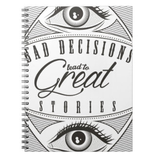 Wellcoda Bad Decision Lead To Good Story Notebooks