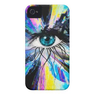 Wellcoda Beautiful Eye Art Pretty Face Case-Mate iPhone 4 Case